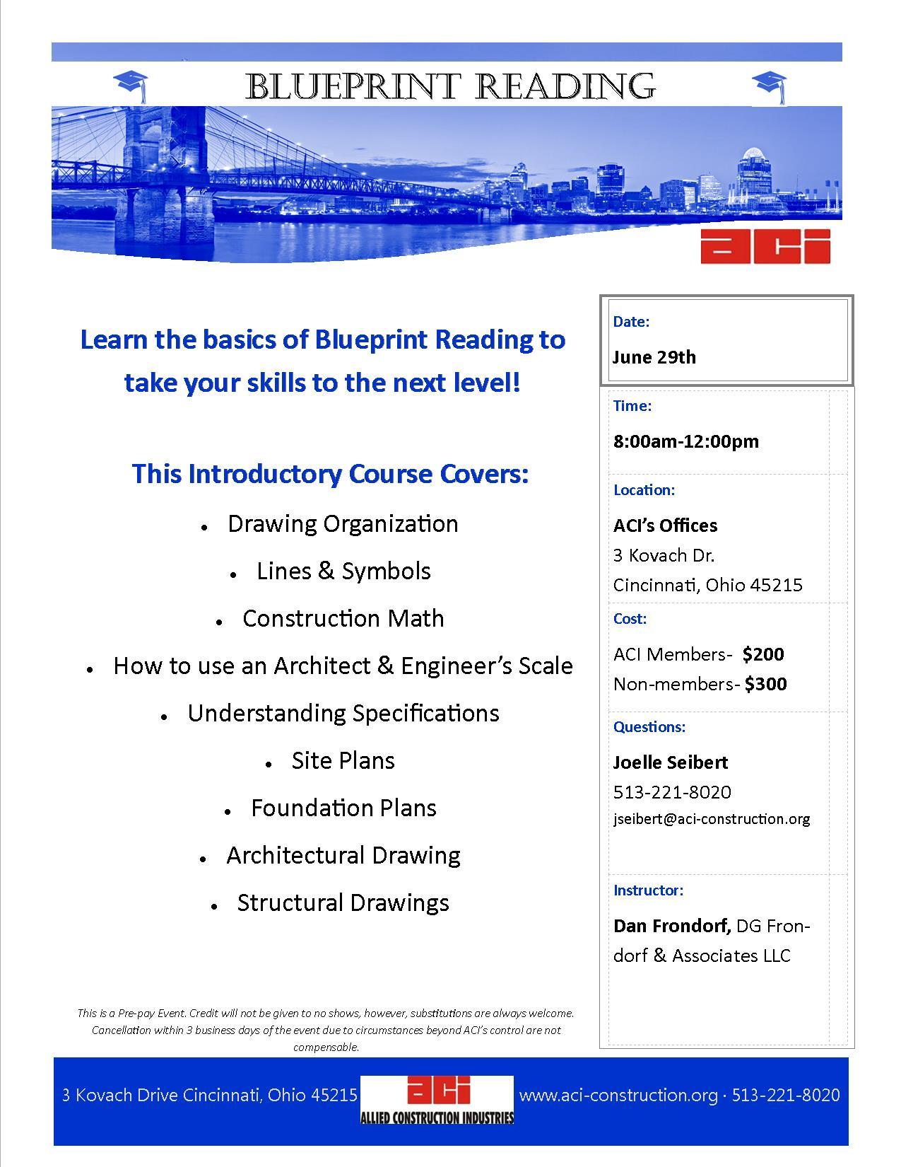 Blueprint reading june 29 2016 malvernweather Images